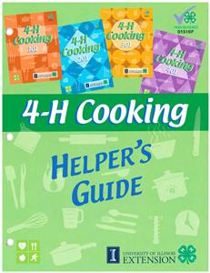 4-H Cooking Helper's Guide 01516F