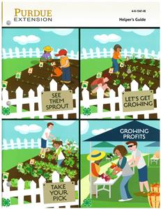 4-H Gardening Helper's Guide 4H1041W
