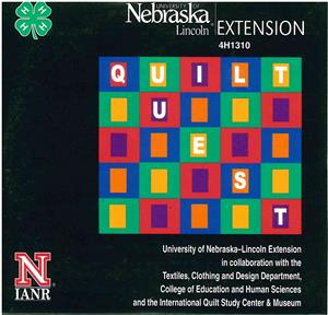 4-H Quilt Quest Leaders Guide - CD Rom 4H1310