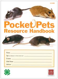 4-H Pocket Pets Resource Handbook 4H220R