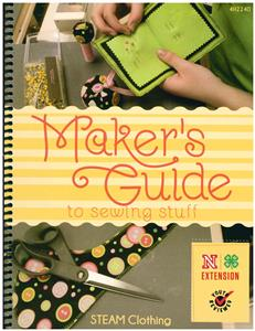 4-H STEAM Clothing: Maker's Guide to Sewing Stuff 4H2240