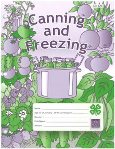4-H Canning and Freezing 4H670