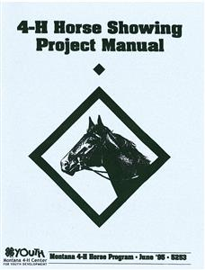 4-H Horse Showing Project Manual 5253