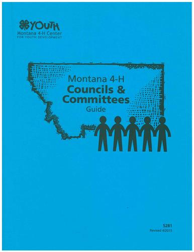 4-H Councils & Committees Guide 5281