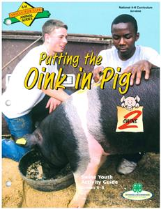 4-H Putting the Oink in Pig - Swine 2 BU8066