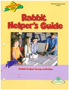 4-H Rabbit Helper's Guide BU8083