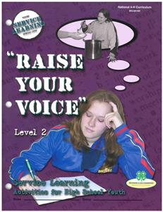 4-H Raise Your Voice - Level 2 BU8183