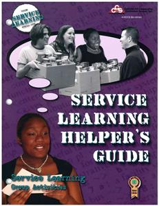 4-H Service Learning Helper's Guide BU8184