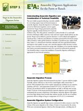 Anaerobic Digesters: Understanding and Tecnical Feasibility E3A-AD..1