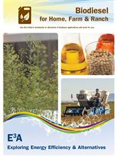 Biodiesel for Home, Farm & Ranch Folder E3A-BD
