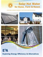 Solar Hot Water for Home, Farm & Ranch Folder E3A-SHW