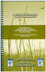 A Guide To Changing Plant Communities EB0172