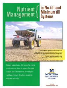 Nutrient Management in No-till and Minimum Till Systems EB0182