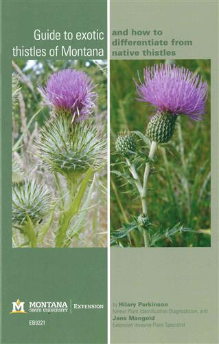 Guide to Exotic Thistles in Montana and How to Differentiate from Native Thistles EB0221