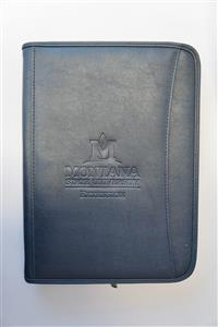 Navy Blue Executive Padfolio AD0008