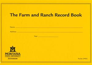 Farm and Ranch Record Book 2P002