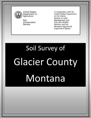 Glacier County & Part of Pondera County Soil Survey SOILS08