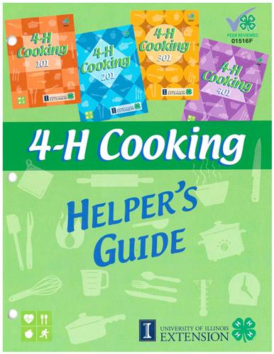 4-H Cooking Helper's Guide 1516F