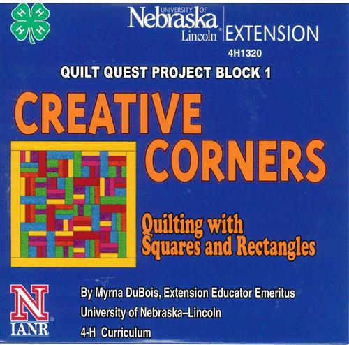 4-H Creative Corners - Quilt Quest Project Block 1 4H1320