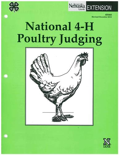 4-H National 4-H Poultry Judging 4H460