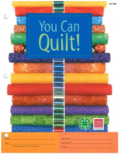 4-H You Can Quilt! 4H499