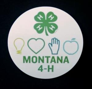 Montana 4-H Stickers 4H0007