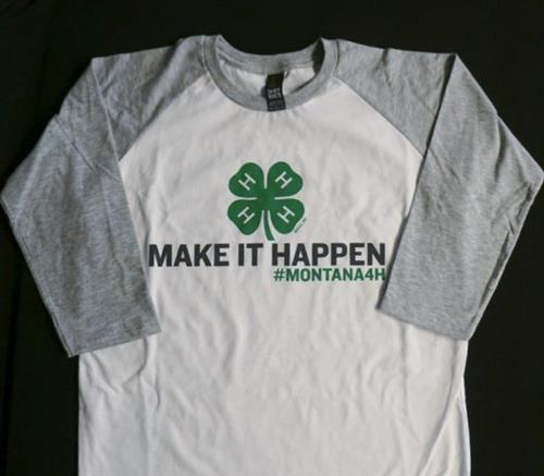 Montana 4-H Make it Happen Youth Tee 4H0011