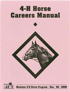 4-H Horse Careers Manual 5255