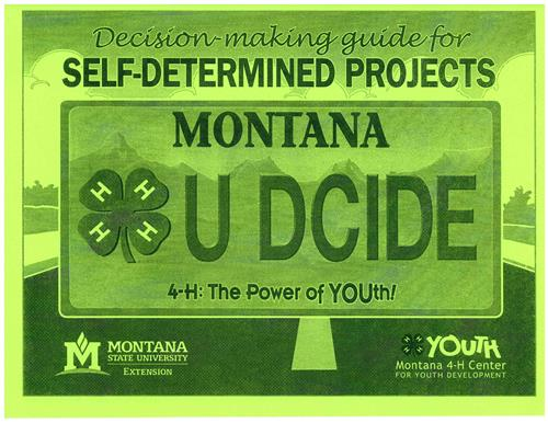 4-H Decision Making Guide for Self-Determined Projects 5314