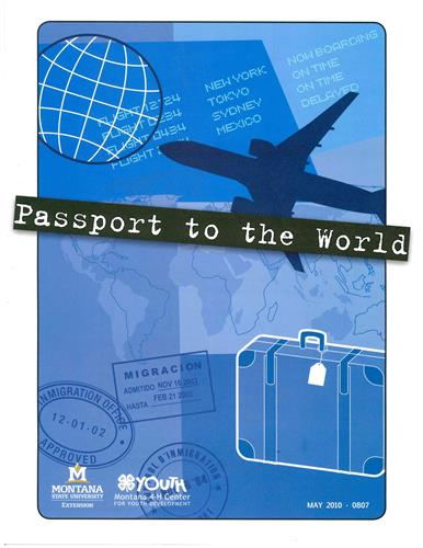 4-H Passport to the World SKU