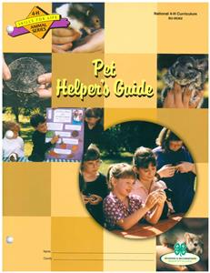 4-H Pet Group Activity Guide BU6362