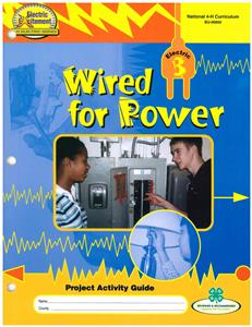4-H Wired for Power - Electric 3 BU6850