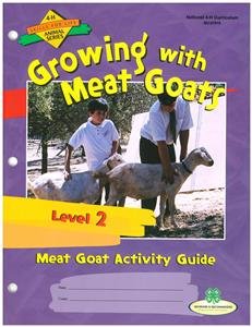 4-H Growing with Meat Goats - Level 2 BU7910
