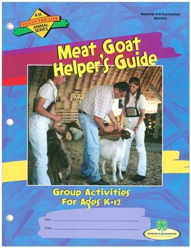 Meat Goat Helper's Guide BU7912