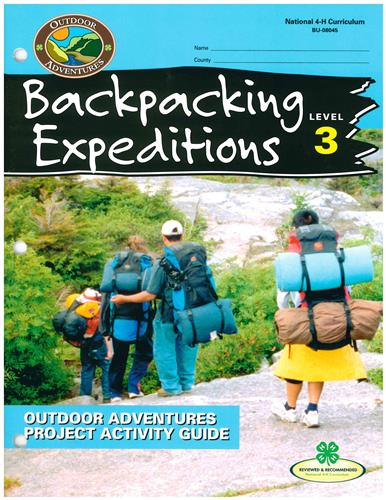 4-H Backpacking Expeditions - Level 3 BU8045