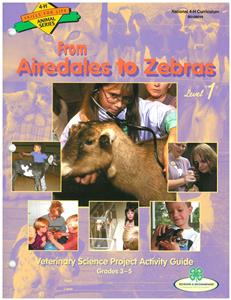 4-H From Airedales to Zebras - Vet Science 1 BU8048