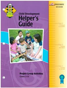 4-H Child Development Helper's Guide BU8078
