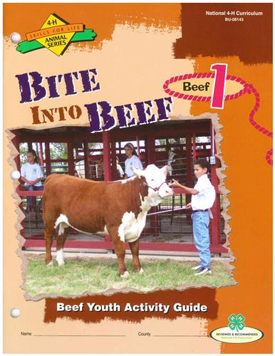 4-H Bite into Beef  -  Beef 1 BU8143