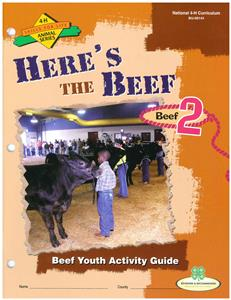 4-H Here's The Beef - Beef BU8144