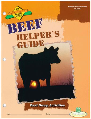 4-H Beef Helper's Guide BU8146