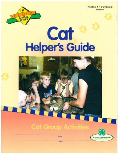 4-H Cat Group Activity Guide BU8151