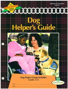 4-H Dog Group Activity Guide BU8169