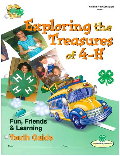 4-H Exploring the Treasures of 4-H - Youth Guide BU8171