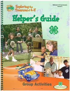 4-H Exploring the Treasures of 4-H - Helper's Guide BU8172