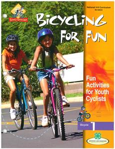 4-H Bicycling For Fun - Bicycle 1 BU8334