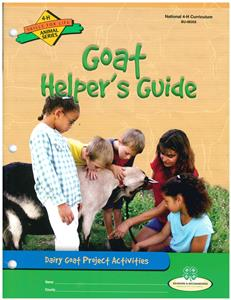 4-H Goat Group Activity Guide BU8355