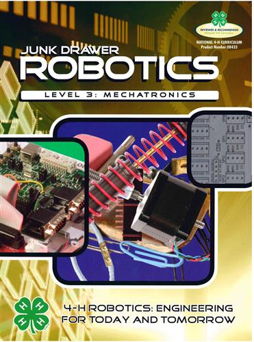 4-H Junk Drawer Robotics Level 3: Mechatroics BU8433