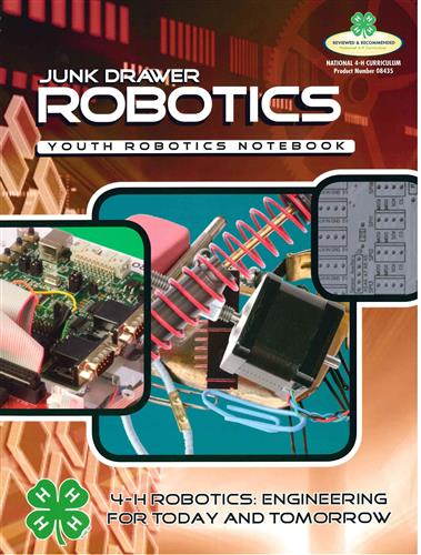 4-H Junk Drawer Robotics Youth Robotics Notebook BU8435