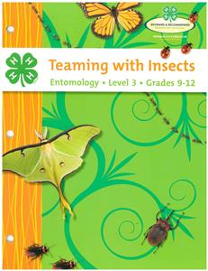 4-H Teaming With Insects - Entomology Level 3 BU8442