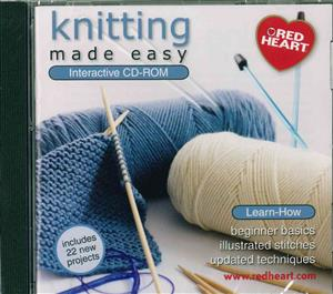 4-H Knitting Made Easy CD Rom CD104E